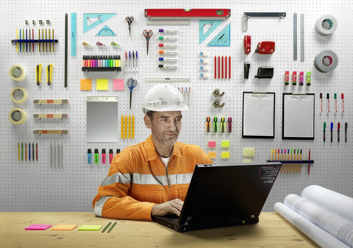 Noë Flum Suva Kundenportal Vereinfachung Korrespondenz Ordnungsliebe Ordnung Büromaterial