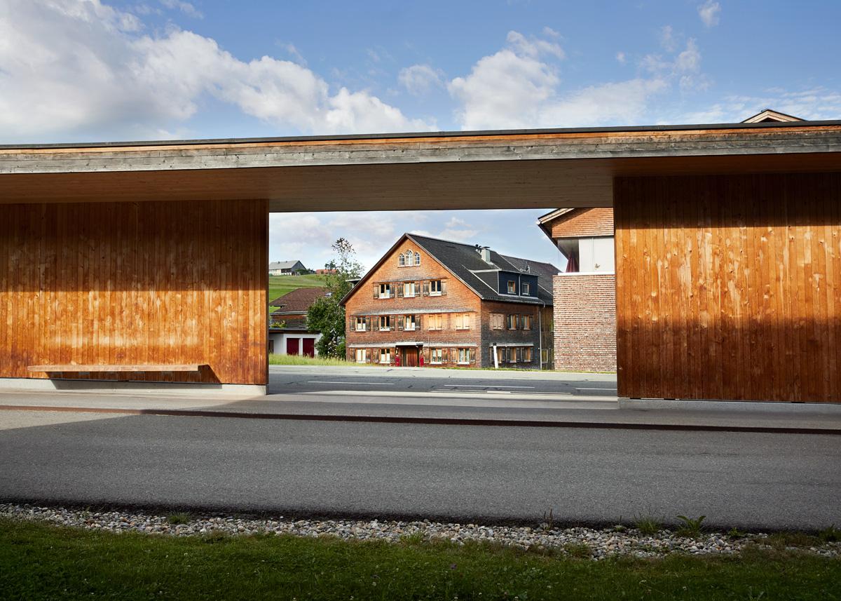Bregenzerwald, furniture making and architecture, municipality of Krumbach