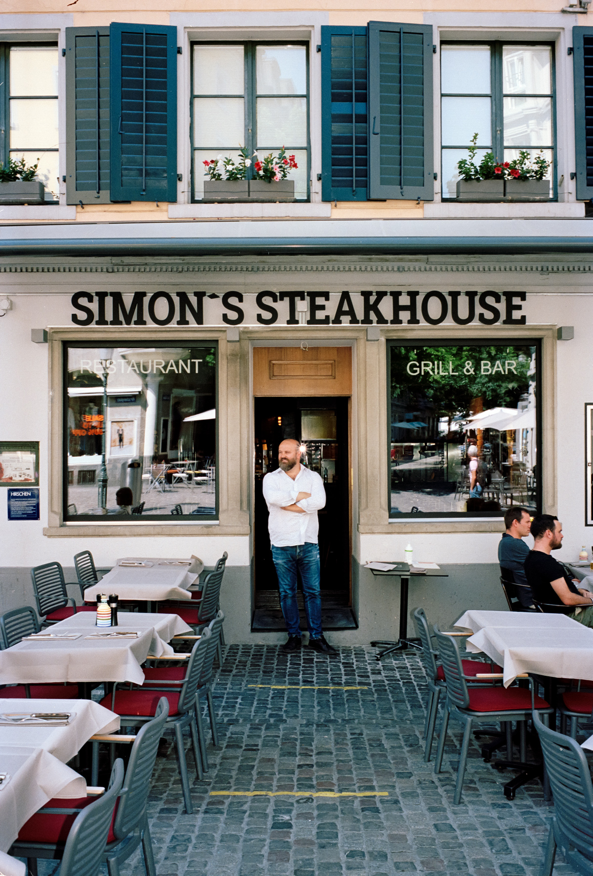 Simon Habegger Simons' Steakhouse Zürich Simon Komani Restaurant