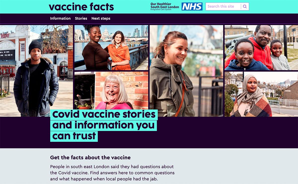 Mischa Haller NHS covid vaccine covid-19 Impfung impfen Gesundheit Portrait London