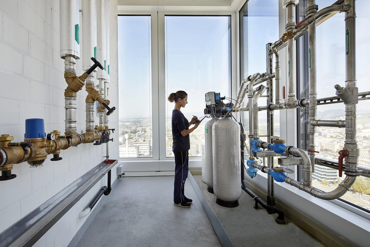 Noe Flum EKZ See-Grundwasser-Anlage Wartung