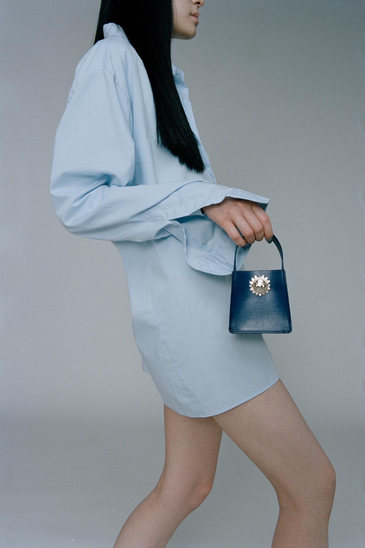 Simon Habegger ACC.Helvetica Accessoires Handtasche Mini Bag Appenzell Handwerk Leder
