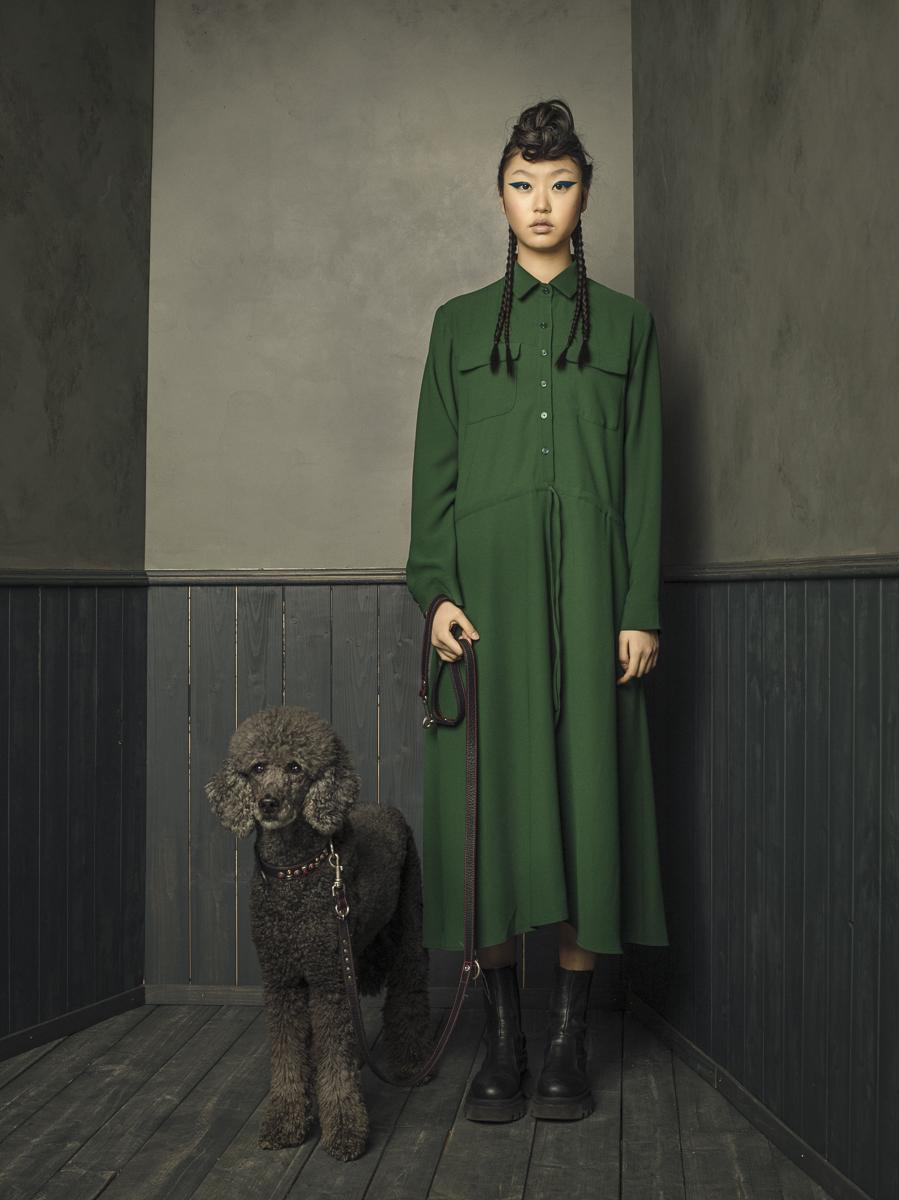 Remo Buess Fotograf fashion shooting Studio @jang.dmi Pudel Hund