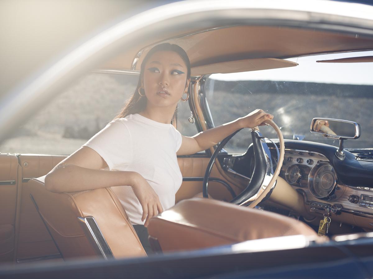 Remo Buess Fotograf fashion shooting @jang.dmi Auto oldtimer car V8BROS. 1959 Chrysler 300E