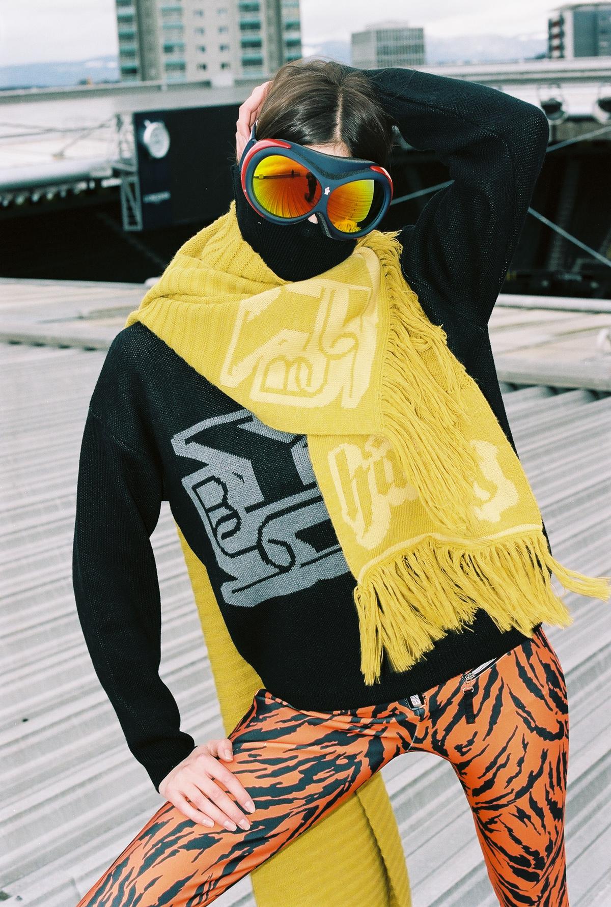 "Fotograf Simon Habegger ""hässig"" BSC YB Kollektion 2021 fashion Dayane Hofer"